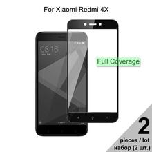 Verre de protection pour Xiaomi Redmi 4X verre trempé à couverture complète pour Xiaomi Redmi 4X