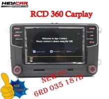 RCD330 RCD360 Carplay 187B MIB радиоприемник для VW Golf 5 6 Jetta MK5 MK6 CC Tiguan Passat B6 B7 CC Polo Touran 6RD035187B