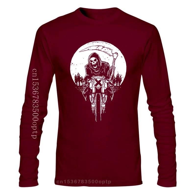 Grim Racer-Camiseta Sin Mangas para Hombre, Segador de la muerte, Motorista, Scyth,...