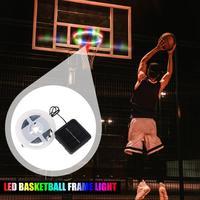 Уличная светодиодная баскетбольная лампа на солнечной батарее, 45 светодиосветодиодный, водонепроницаемая лента RGB для ночной съемки и заня...