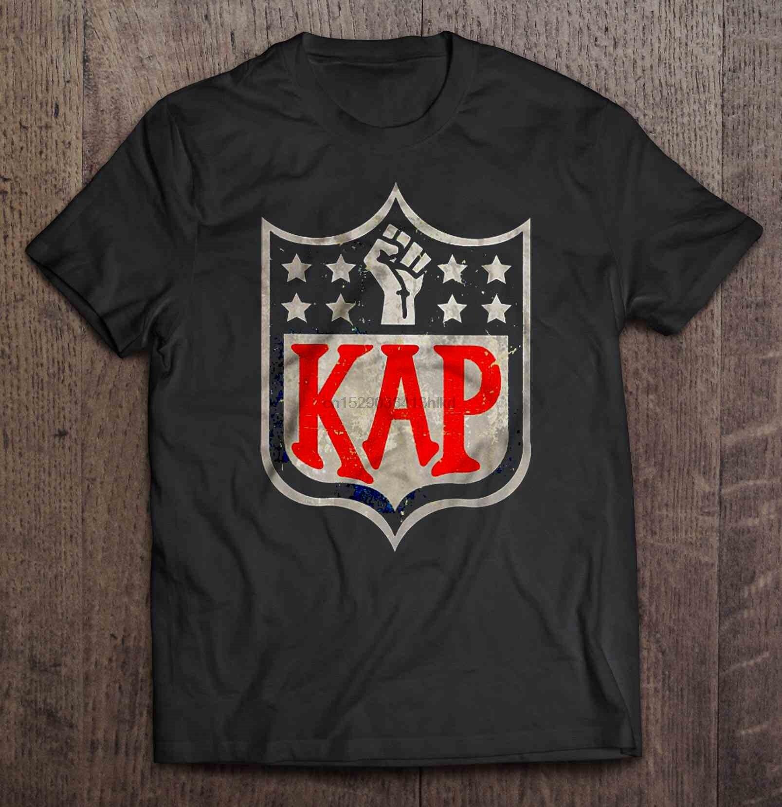 Camiseta para hombre, camiseta Kap resistent, camiseta de mujer de la versión Kaepernick