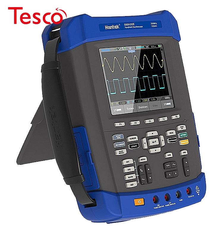 Hantek dso8072e/dso8102e/dso8152e/dso8202e osciloscópio handheld 2 m profundidade de memória, 6000 contagens dmm + dso + afg 1gs/s 70-200 mhz
