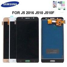 100% test J510 Display Für Samsung Galaxy J5 2016 SM-J510F J510FN J510M J510 LCD Display Touchscreen Digitizer Sensor Montage