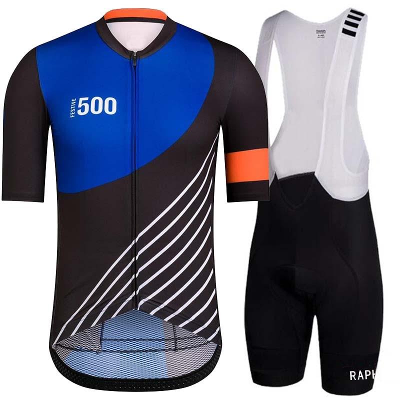 남성반팔 2020 Pro equipe de ciclismo jersey calças jardineiras definir bicicleta de triatlo wielerkleding heren define mens quần áo xe đạp equipement velo vtt