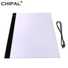 CHIPAL A3 LED Licht Pad Digital Graphic Tablet Artcraft Tracing Licht Box Kopie Bord Schreibtisch Zeichnung Tablet für Malerei