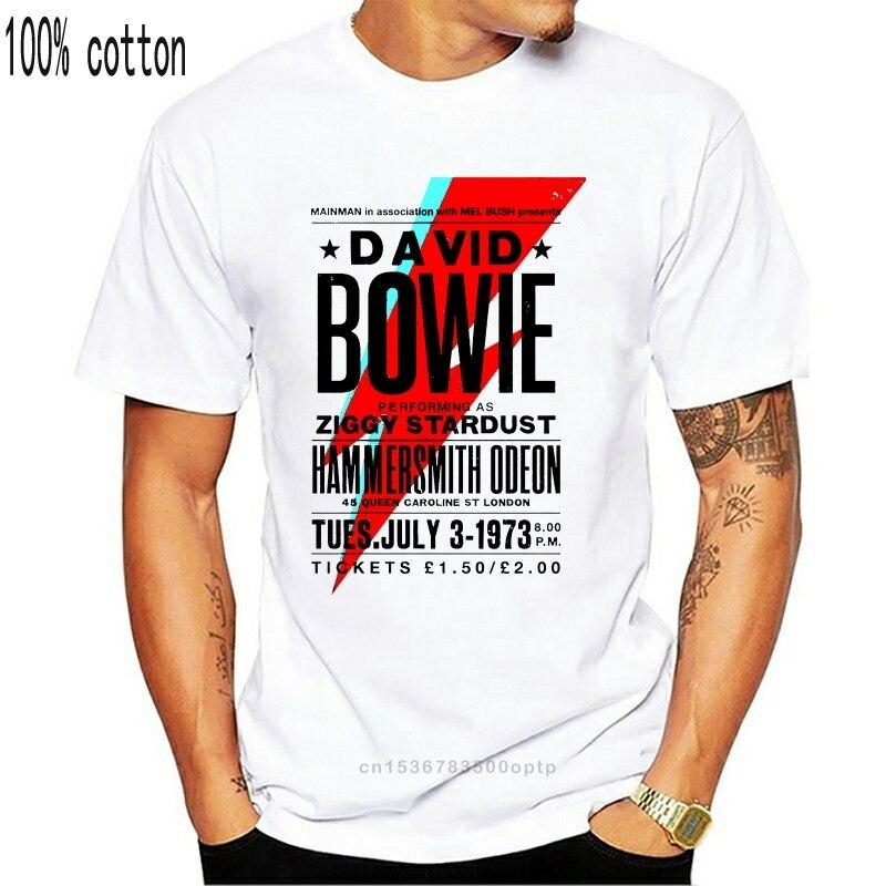 Pôster de camiseta david bowie
