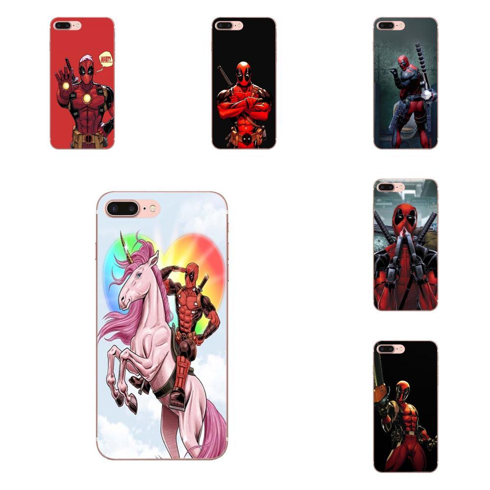 Para Huawei Honor 5C 5X 6A 6X 7 7A 7X 8 8A 8S 8X 9 10 30 Lite Pro Y6 II Y7 Y9 primer 2019 suave TPU bien mejor lindo Deadpool divertido arte