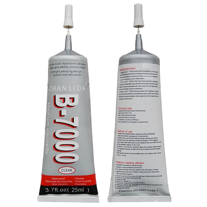 New Multi-Purpose B7000 Transparent Strong Super Glue Adhesive Suitable For DIY LCD Screen Phone Cas