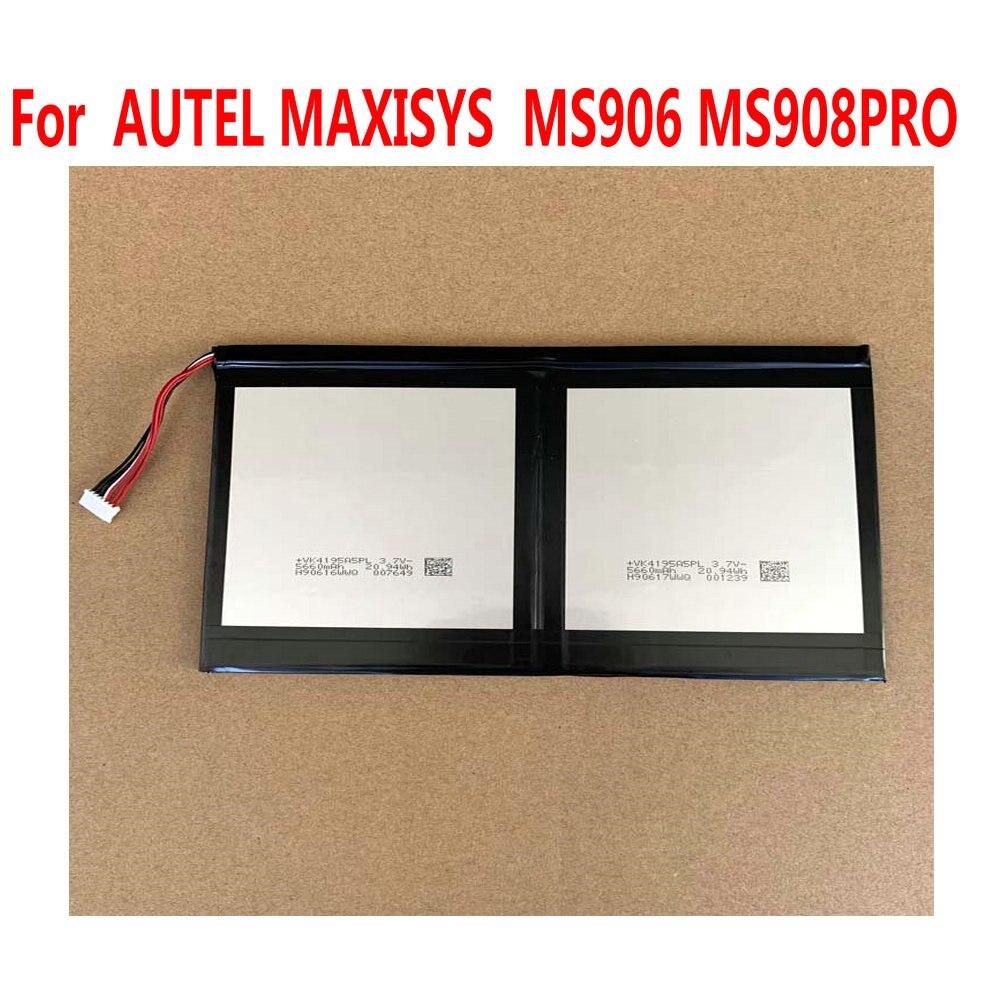 Alta qualidade para autel maxisys ms905 ms906 ms908 pro mx808 substituição da bateria