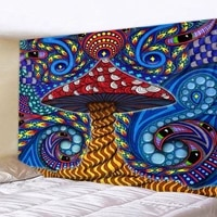 dazzling color tapestry indian mandala tapestry decoration bohemian psychedelic hippie night moon tapestry tapestry 6 sizes