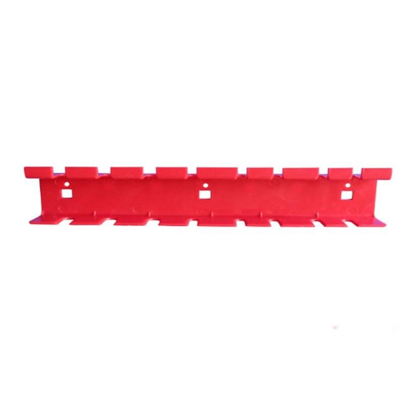 Ferramenta de Tomada de Chave de Fenda De plástico Caixa De Armazenamento Gancho Garagem Estantes Modulares Ferramenta Organizar Box para Wall-Montado Hardware Placa Pendurada