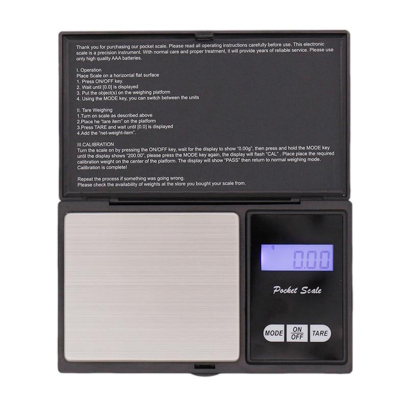 Mini High Precision Digital Scale Digital Kitchen Scale LCD Display 100g/0.01g Portable Homebrew Hop Scale Bar Accessories