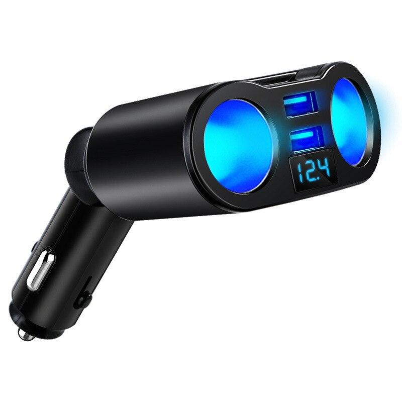 Универсальный автомобильный разветвитель для прикуривателя, 12-24 В, 120 А