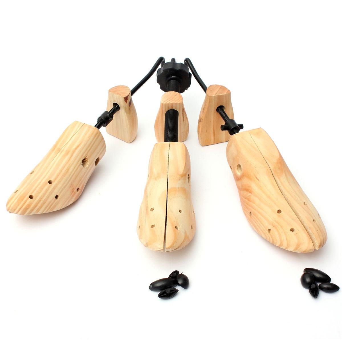 1Pcs Durable Shoe Tree Wood Shoes Stretcher, Wooden Adjustable Man Women Flats Pumps Boot Shaper Rac