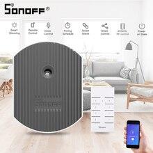 SONOFF D1 Smart Dimmer Wifi Switch RM433 RF Remote Voice Control Adjust Light Brightness Work via eWeLink APP Alexa Google Home