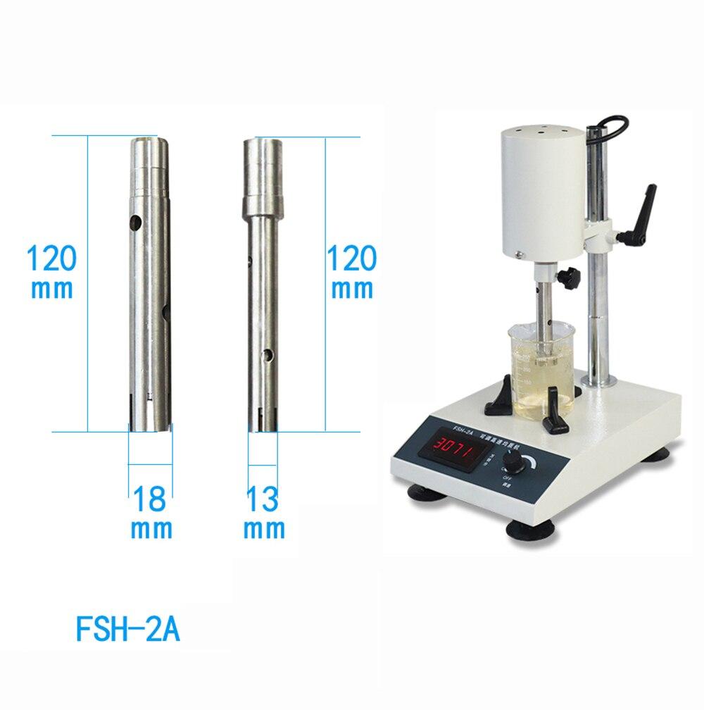 110V/220V مختبر عالية السرعة الخالط الرقمية عرض الاستحلاب الخالط الأنسجة هراسة FSH-2A