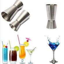 Mesure des boissons en acier inoxydable   Gabarit de 25/50 ML mélangeur outils de mesure de la liqueur