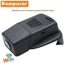 Kampacar-caméra Dvr de voiture   Pour Volvo V90 CC S90 CROSS T4 T5 AWD XC60 T8 2018 à 2020 ans, enregistreur automatique, Wifi et Dashcam