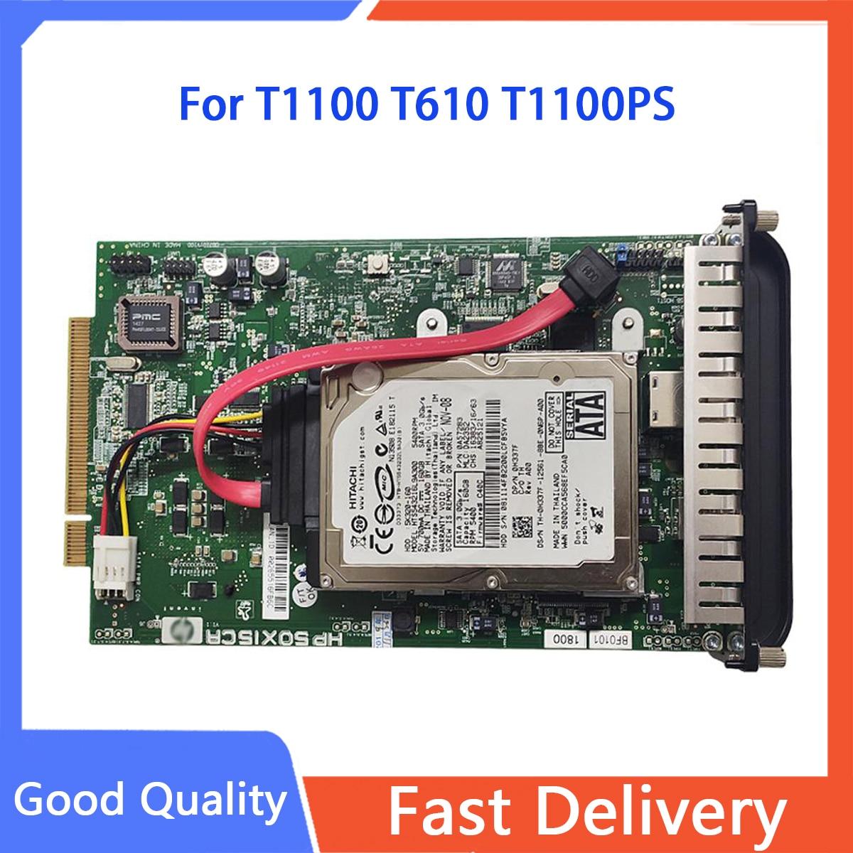 Q6683-67030 Q6683-60193 اللوحة الأم المنسق بطاقة صالح لل طابعة تصميم إتش بي T1100 T610 T1100PS المنسق مجلس و HDD أجزاء جهاز رسم بياني