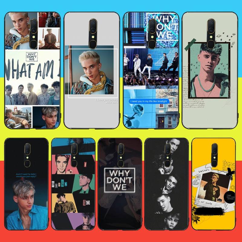 NBDRUICAI Daniel Seavey el rugiente, ¿por qué no nos Bling teléfono lindo caso para Oppo A5 A9 2020 Reno Z Realme5Pro R11 caso