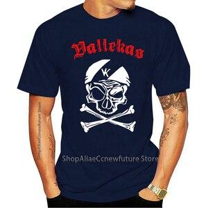 2021 T-shirt Mais Novo engraçado Bukaneros Rayo Vallecano Rvm Vallekas pé Bola Ultras Antifa Punks impressão To  Mangas Curtas