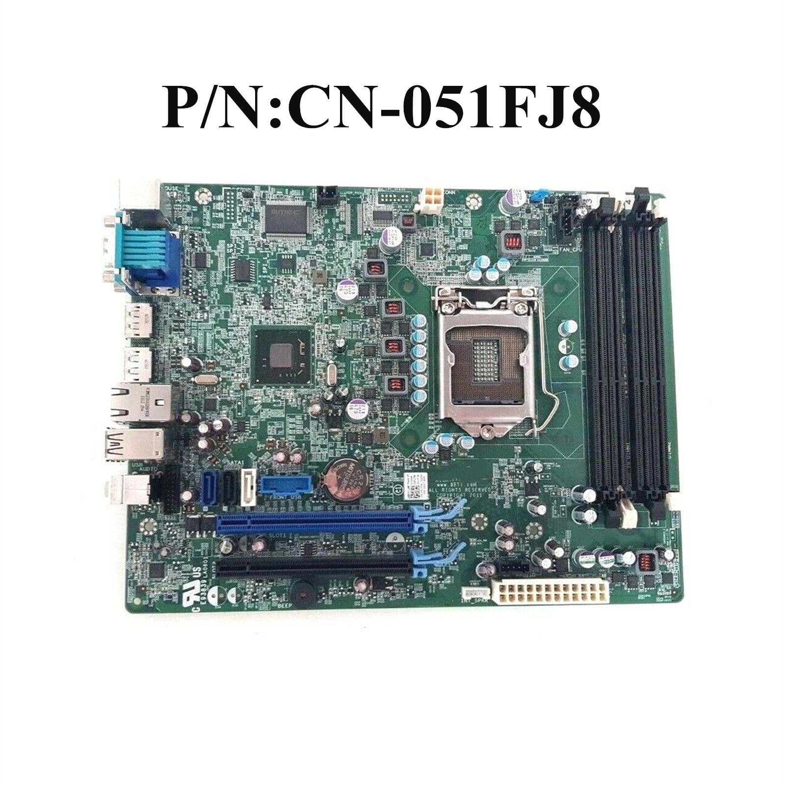 Excelente Para DELL Optiplex 7010 SFF SFF 9010 Sistema Motherboard LGA1155 GXM1W WR7PY 51FJ8 F3KHR 0GXM1W 0WR7PY 051FJ8 0F3KHR