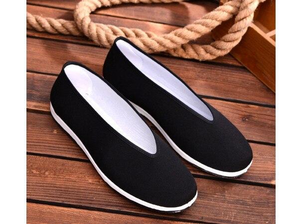 جديد حذاء رجالي كاجوال تنفس الدانتيل يصل الرجال شبكة الأحذية الصينية التقليدية القماش الأحذية القديمة القماش الأحذية بكين القماش الأحذية