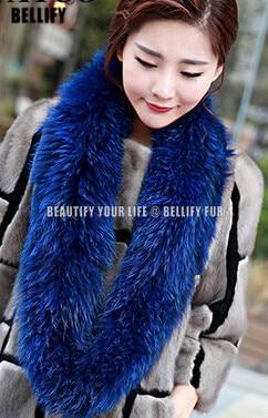 Europeu moda fofo lindo pele de raposa cachecol de cabelo estilo russain luxo malha natural pele de raposa colar cachecol