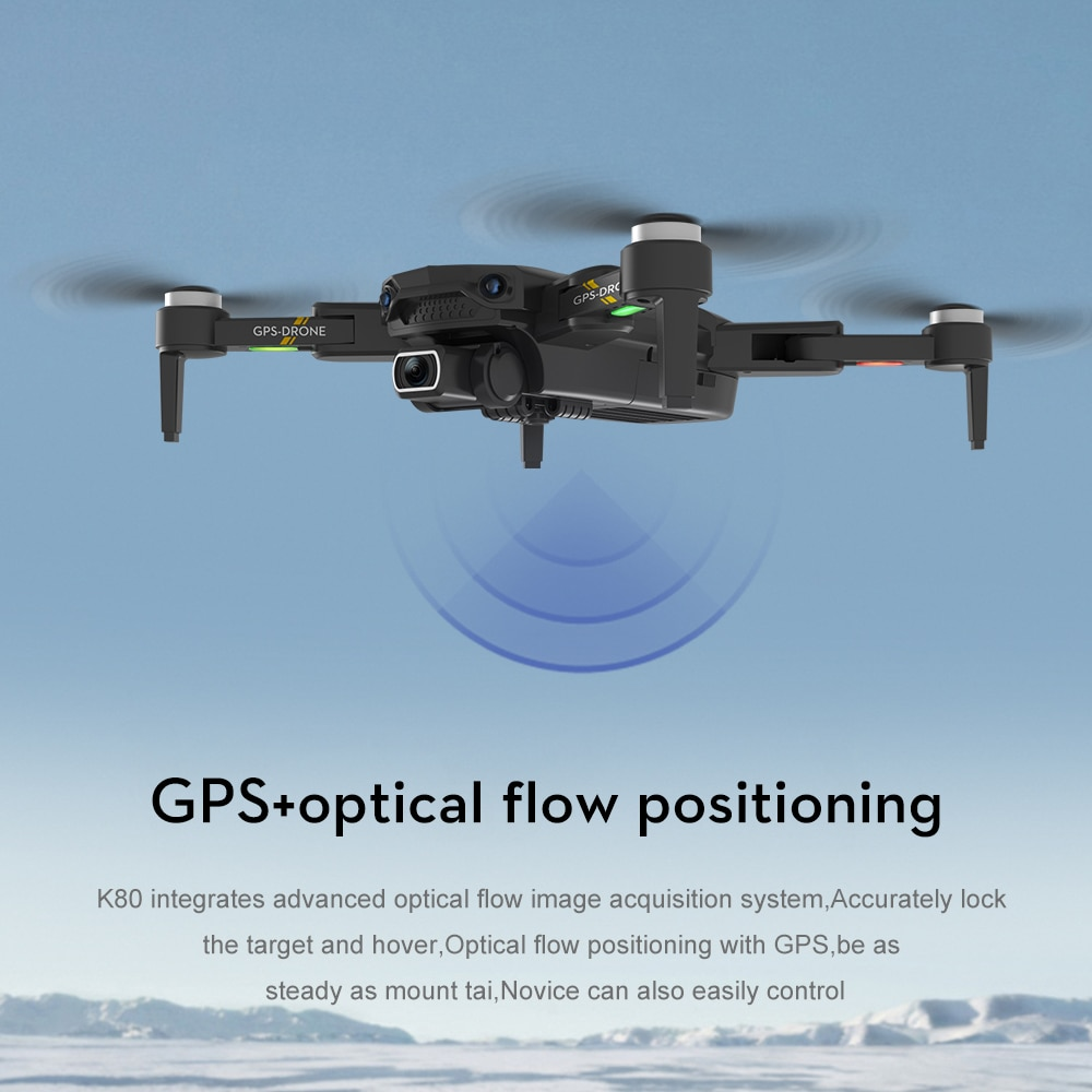 idg K80 PRO GPS Drone 5G 8K Dual HD Camera Professional Aerial Photography Brushless Motor Foldable Quadcopter RC Distance1200M enlarge