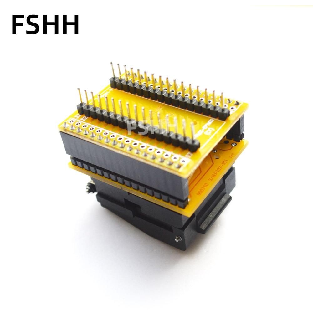 Chip Programmer Socket PLCC32 to DIP32 adapter CNV-PLCC-EP1M32 Programmer adapter PLCC32 adapter test socket enlarge