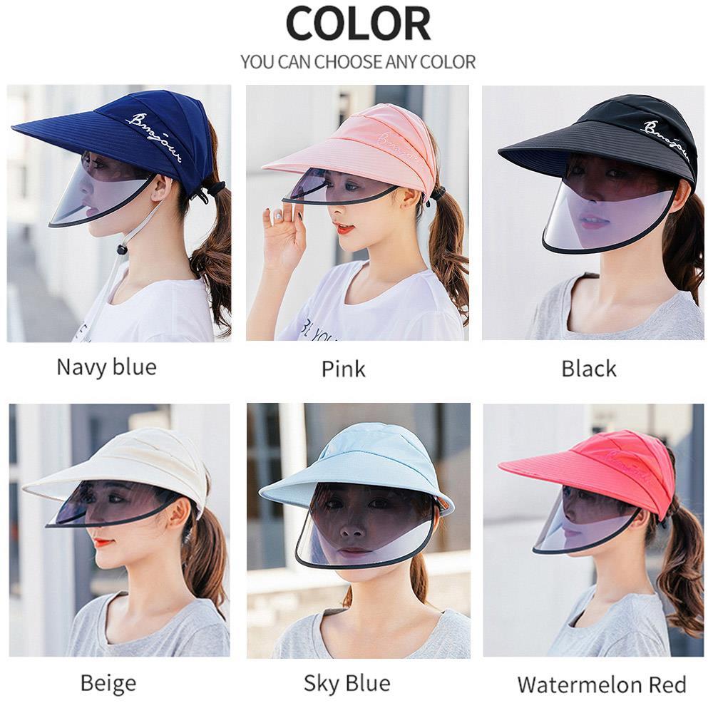 Sombrero de pescador, sombrero protector para los ojos, para exteriores, antisaliva, para mujer, género, antiniebla, moda para hombres, gorras Antiviru para exteriores