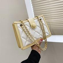 Fashion Exquisite Brand Shoulder Bag for Women 2021 Casual Designer Women Messenger Bags Ladies Leat