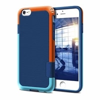 shockproof phone case for iphone 7 8 6 6s plus hybrid impact 3 color rugged soft tpu silicone hard pc bumper anti slip cover