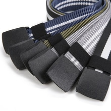 2021 Army Camouflage Stripe Male Belts Adjustable Length Light Military Nylon Men's Belt Outdoor Designer Tactical Waistband