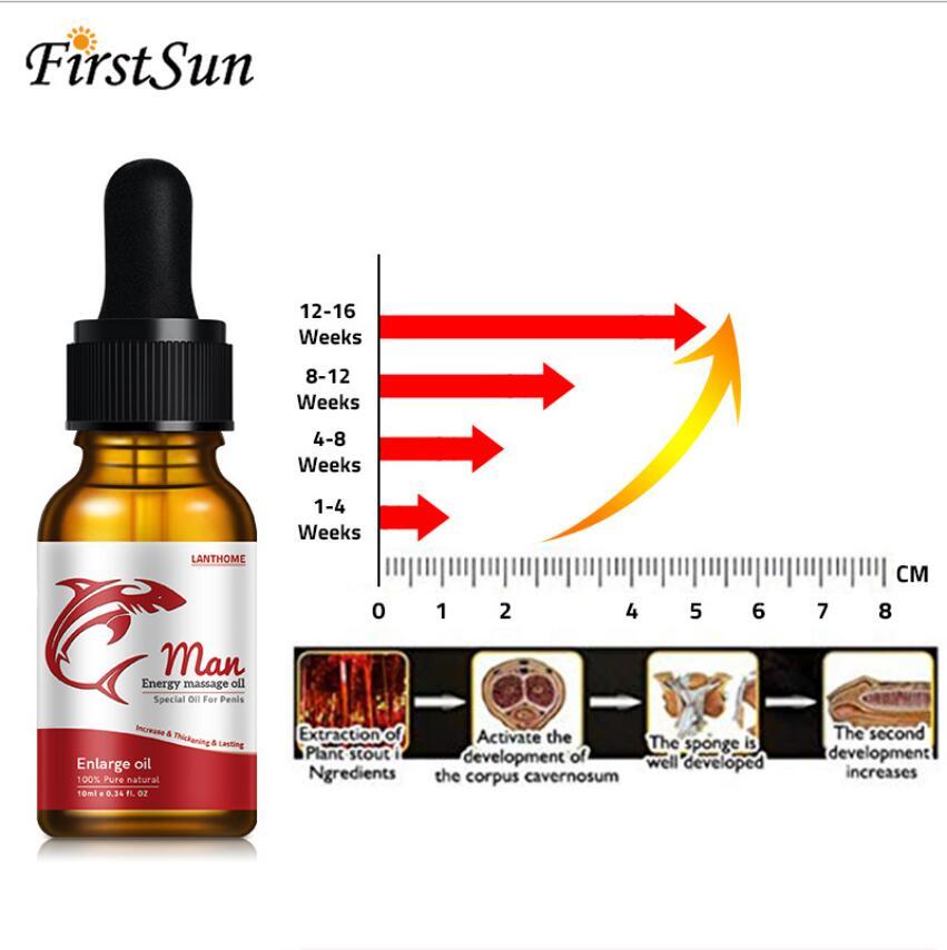Купить с кэшбэком New magical Enlargement Oils Permanent Thickening Growth Pills Increase Liquid Oil Men Health Care Enlarge Massage