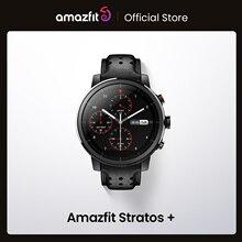 2019 nuovo Amazfit Stratos Professional Smart Watch cinturino in vera pelle confezione regalo zaffiro 2S per telefono Android iOS