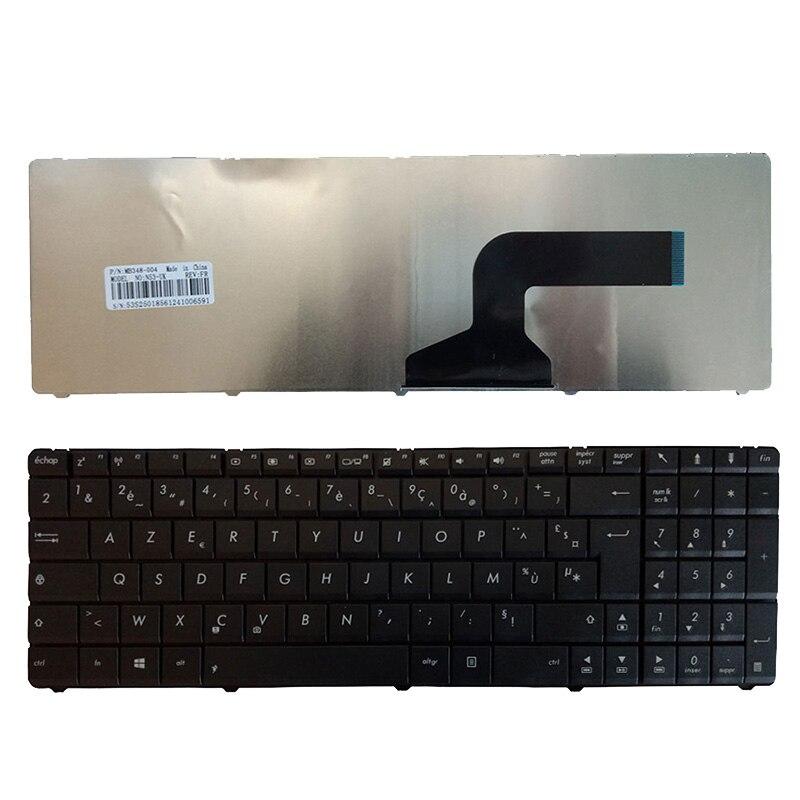 Клавиатура для ноутбука ASUS K52J K52JB K52JC K52JK K52JR K52F X61 N61 G60 G51 G53 FR, черная Французская клавиатура