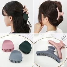 Korean Simple All-Match Bath Hairpin Back Head Grip Female Clip Hairware Adult Ponytail Clip Elegant