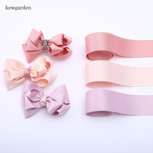 "Kewgarden 38mm 1.5"" Matte Cotton Satin Ribbon Handmade Tape DIY Bow Accessories Ribbons Riband  8 m/lot"