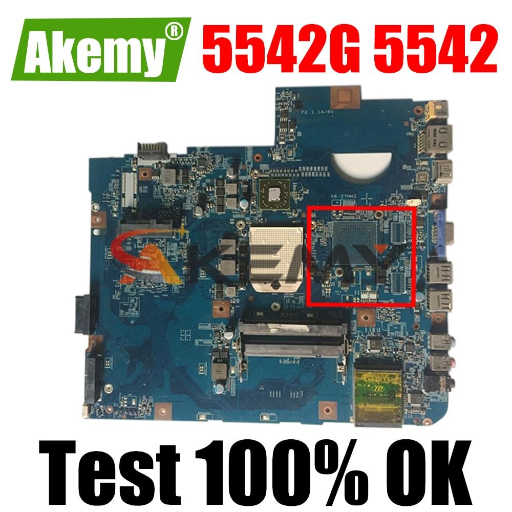 لوحة أم للكمبيوتر المحمول Acer 5542G 5542 09927-1 09230-1 لوحة أم MBPHA01001 48.4FN01.011 DDR2 لإرسال 100% اختبار العمل
