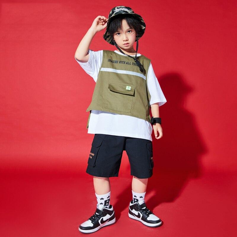 جديد الأولاد الهيب هوب الشارع الشهير المنصة تظهر المرحلة الملابس دعوى الشارع الرقص أداء الملابس فضفاضة الرقص ممارسة ارتداء YS1982