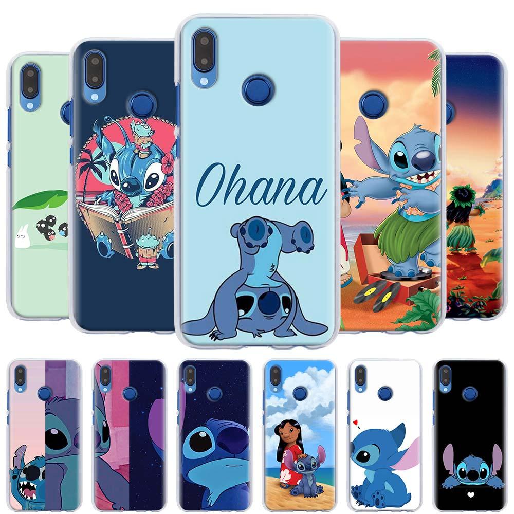 Lilo Stitch cute cartoon Phone Cases for Huawei Y9 Y5 Y6 Y7 Y9 2019 Nova 5 5i Pro 5T Honor Y6 Y7 Y9 Hard Cover Capa