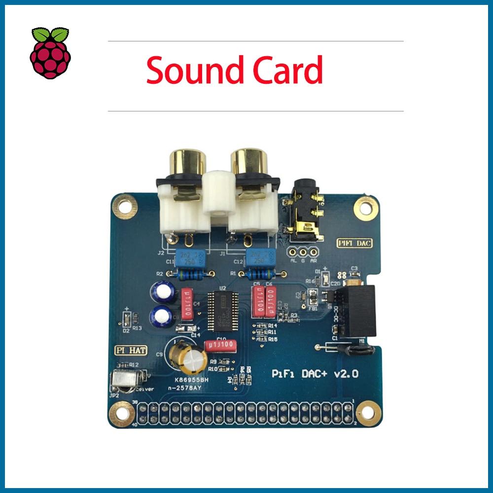 S  ROBOT Raspberry Pi 4 Model B PiFi DAC+ V2.0 Sound Card Acrylic Case Audio Board Box Shell  RPI167