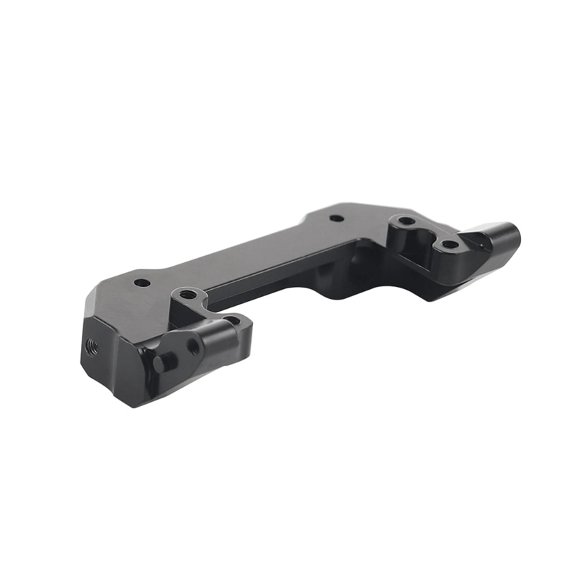 Metal Front Bumper Servo Mount Bracket Upgrades Parts Accessories for RC Crawler Axial SCX10 III AXI03007,Black enlarge