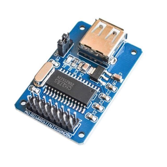 Ch376s usb módulo u disco de leitura-gravação módulo de interface de host usb módulo