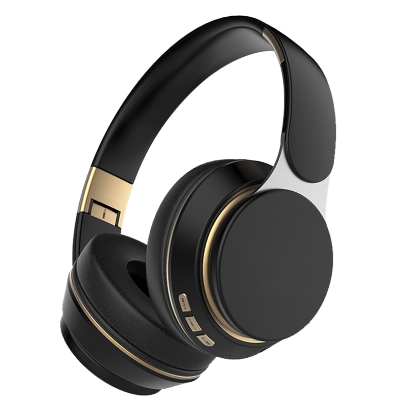 Cheap High Performance 07S Wireless Headphones Over Ear Bluetooths Foldable Hi-Fi Headset For Computer Game HD Call TF Card AUX