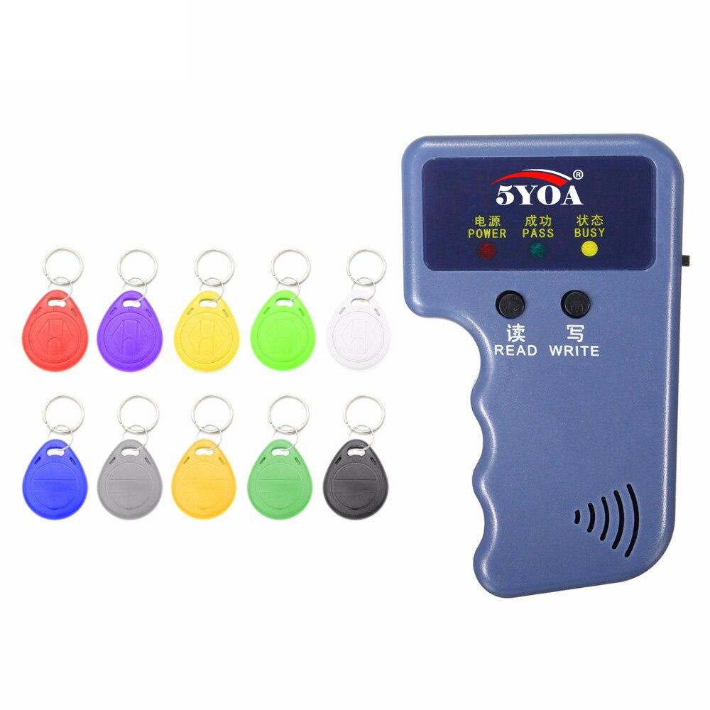 Программатор RFID 125 кГц, Дубликатор, копировальный аппарат, записывающее устройство, записывающее устройство, устройство для клонирования ID-...
