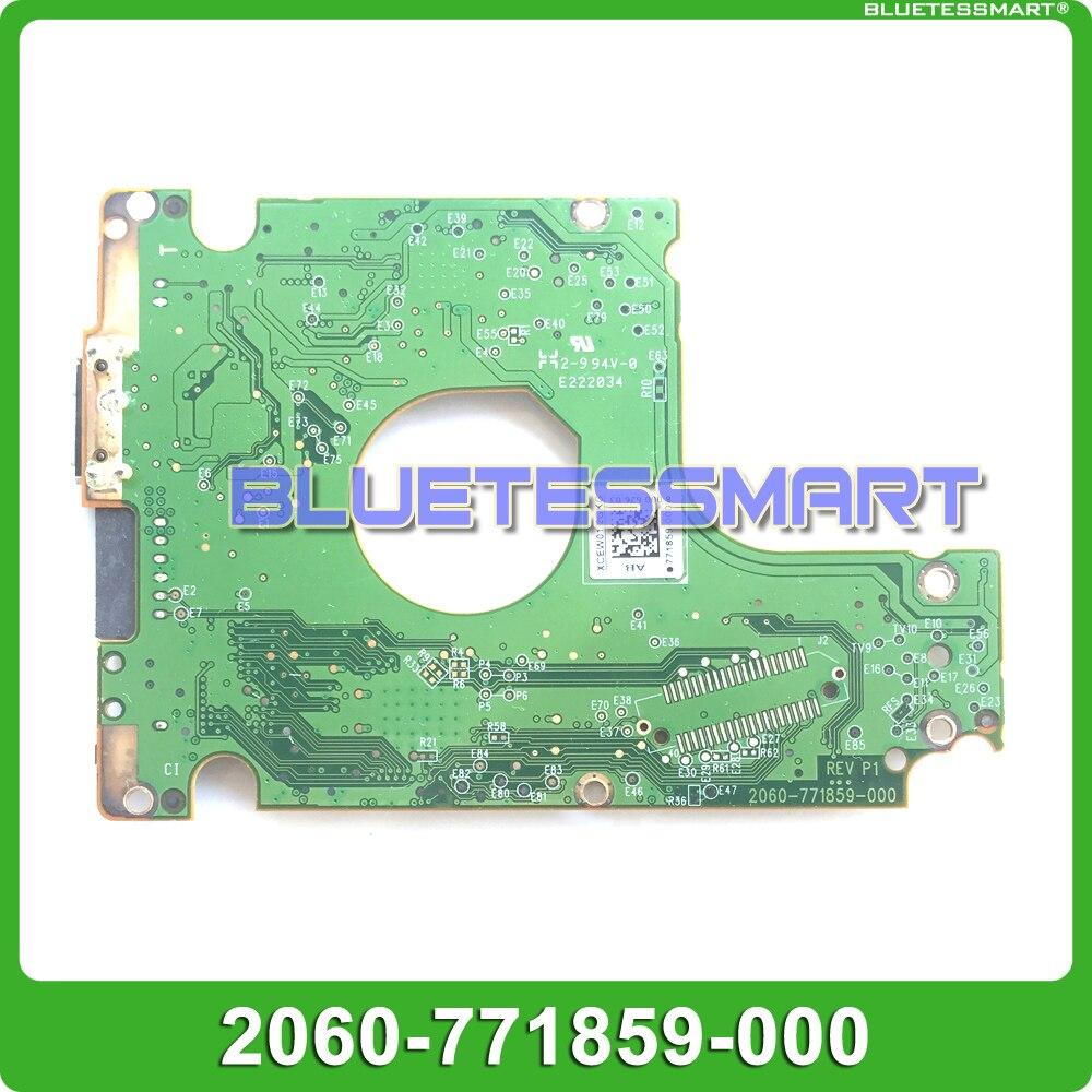 Placa de circuito HDD PCB 2060-771859-000 para reparación de disco duro USB 2,5 de 3,0 pulgadas recuperación de fecha WD5000LMVW