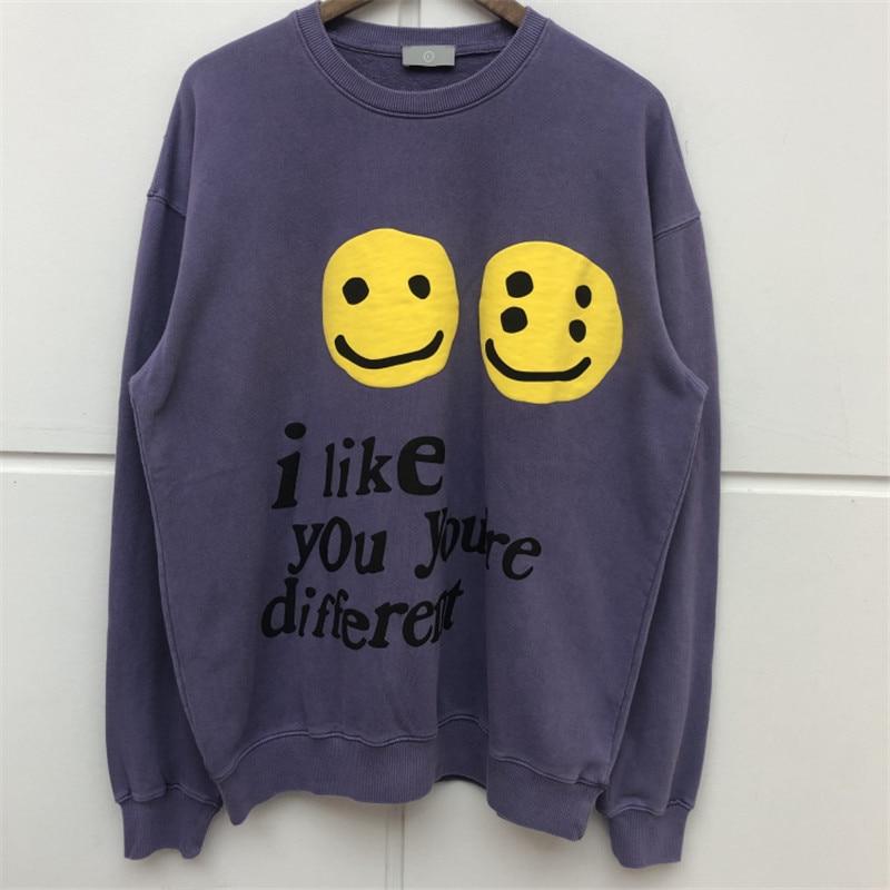 CPFM.XYZ W.W.C.D. Women Men Sweatshirt Hoodie 1: 1 High Quality Streetwear Men women Kanye CPFM Smile Sweatshirt Pullover