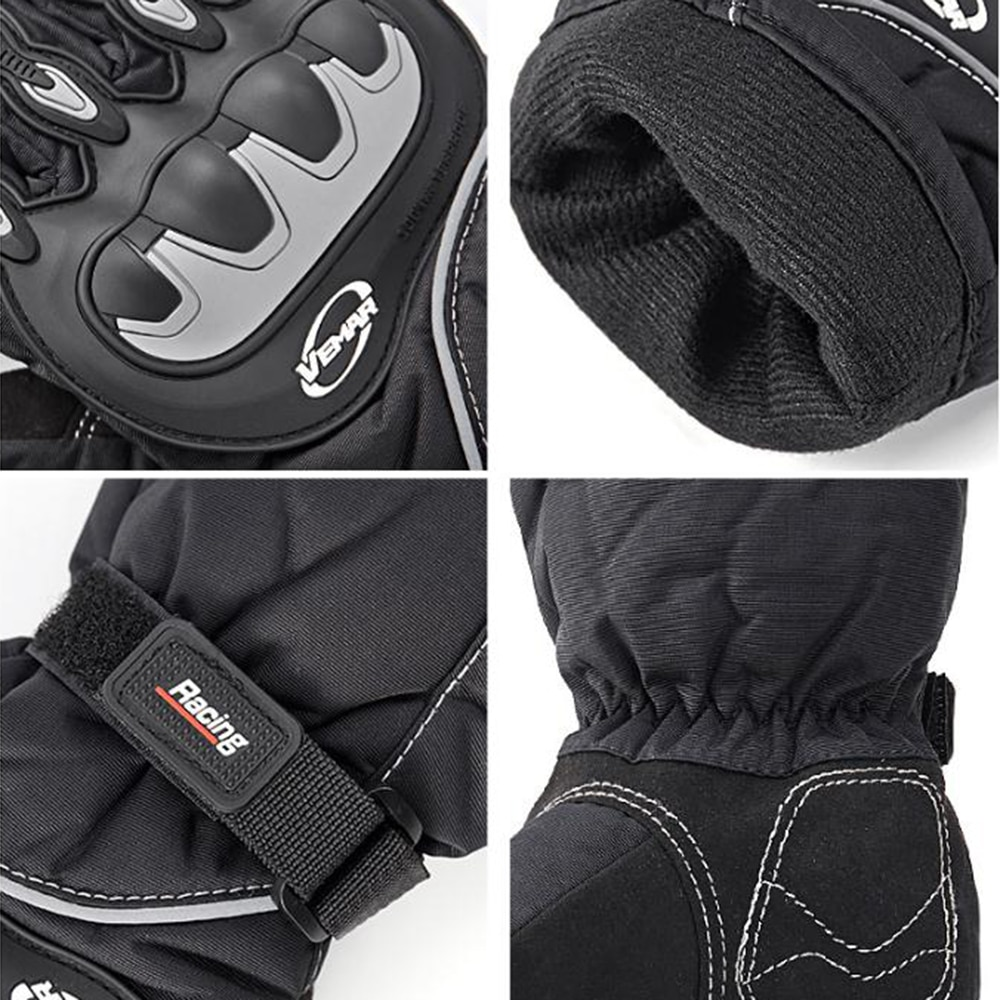 VEMAR Motorcycle Gloves Winter Windproof Waterproof Guantes Moto Men Motorbike Riding Gloves Touch Screen Moto Motocross Gloves enlarge